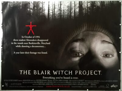 The Blair Witch Project Final UK Quad