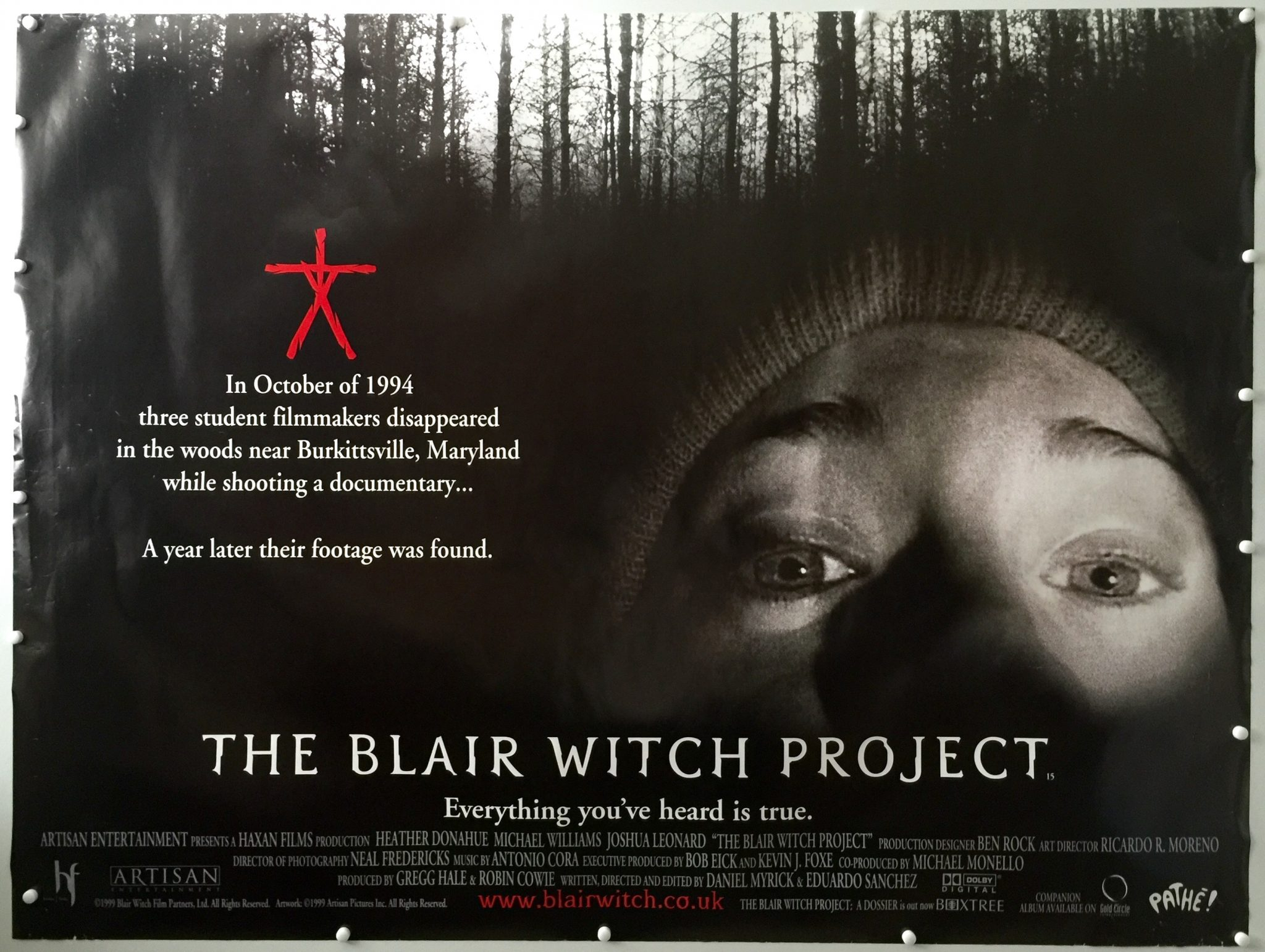 Movie Posters 1999: The Blair Witch Project