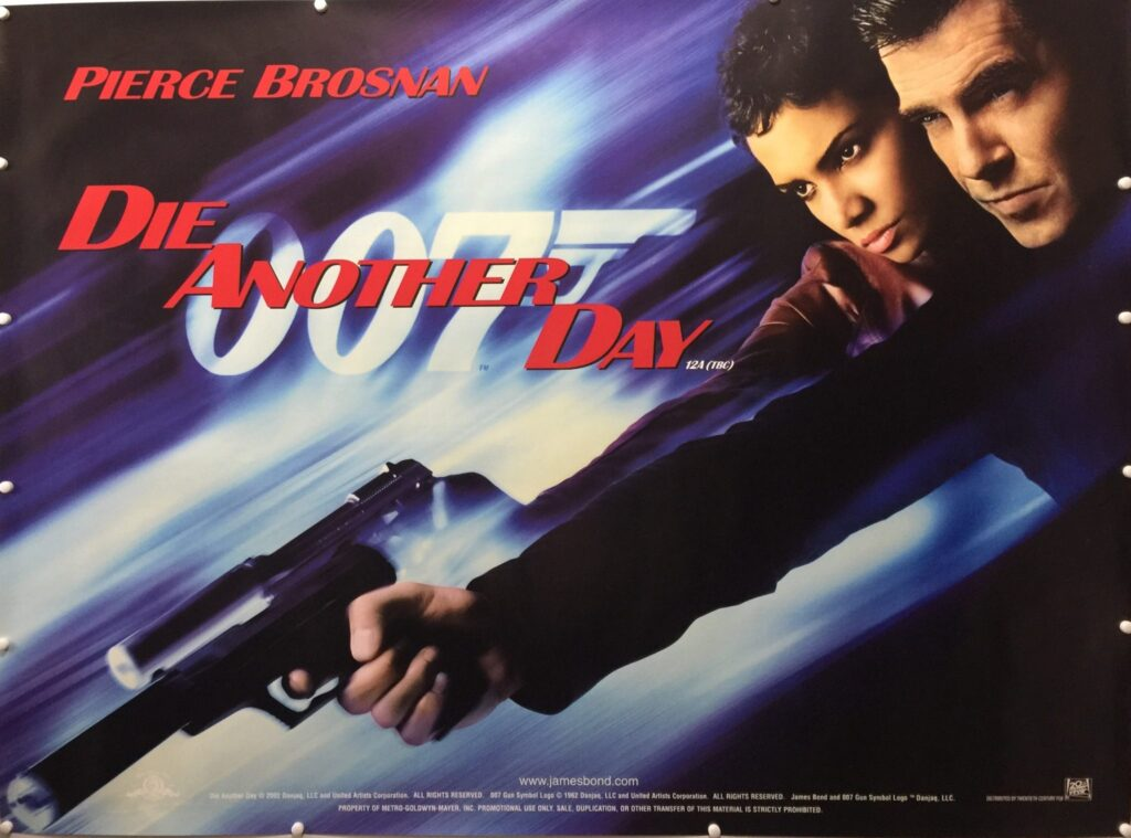 Die Another Day Teaser UK Quad