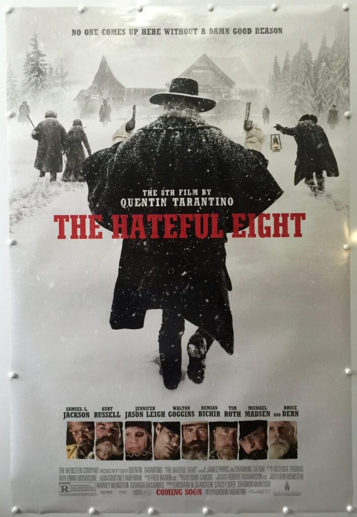 The Hateful Eight Advance Coming Soon UK One Sheet
