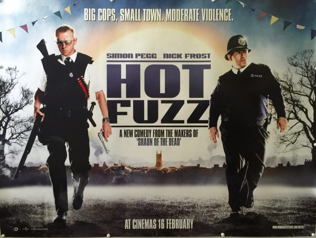 Hot Fuzz UK Quad