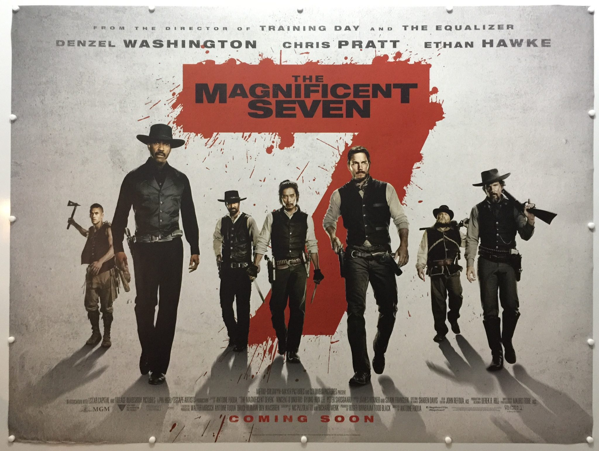 Movies 2016 Posters: The Magnificent Seven