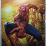 Spider-Man 2 3D Plastic UK Poster