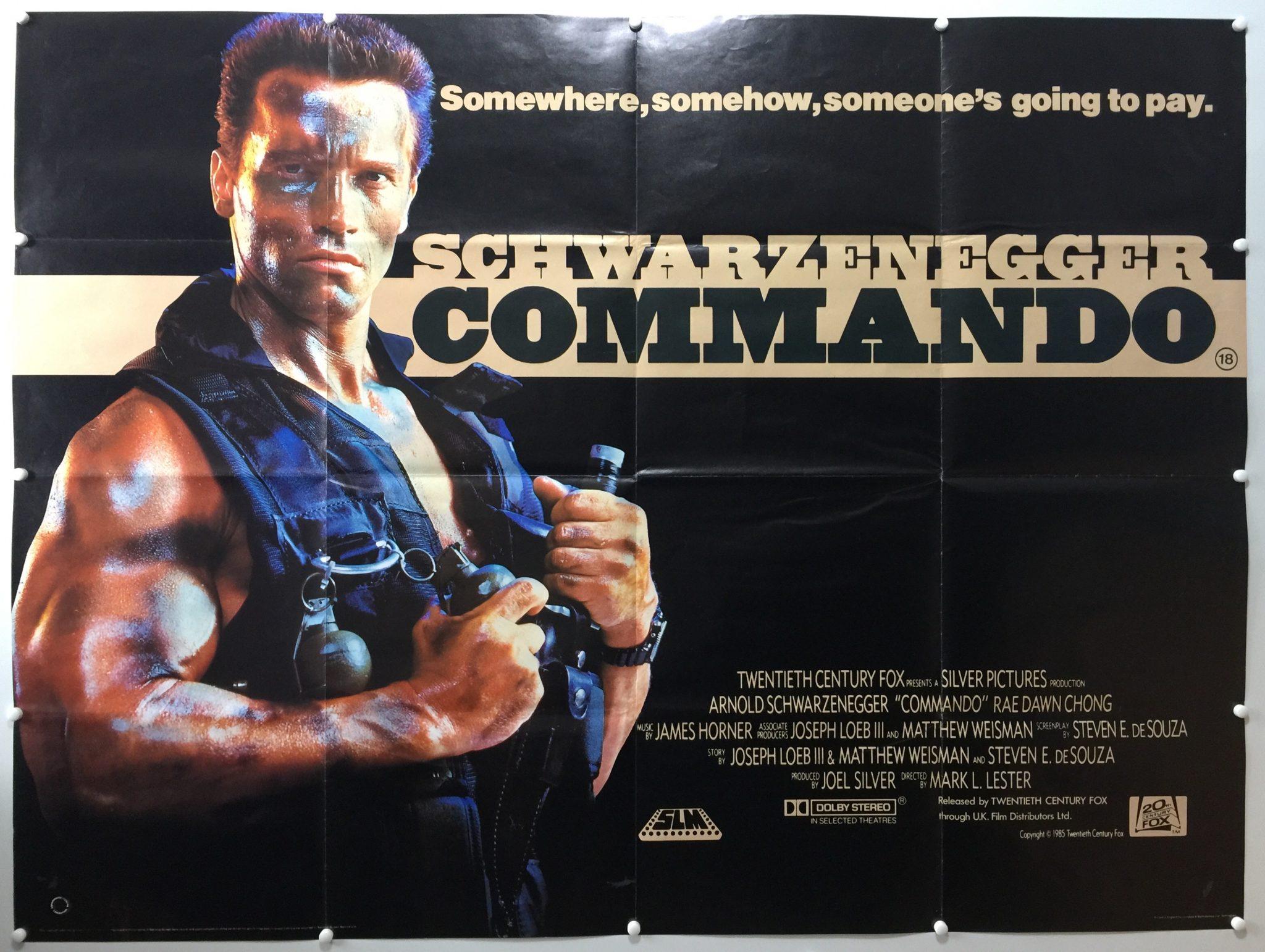 Commando UK Quad