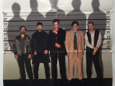 The Usual Suspects UK One Sheet