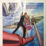 James Bond A View To A Kill 1985 US One Sheet