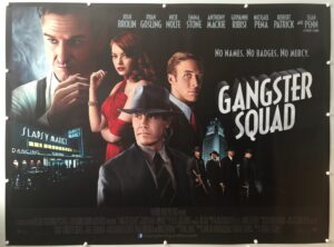 Gangster Squad 2013 UK Quad