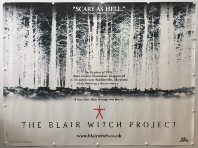The Blair Witch Project Teaser UK Quad