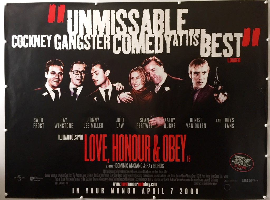 Love, Honour and Obey BLACK STYLE UK Quad