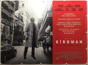 The Birdman Final UK Quad Poster