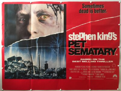 Pet Sematary Final UK Quad