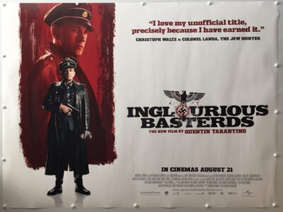Inglourious Basterds Colonel Landa Advance UK Quad