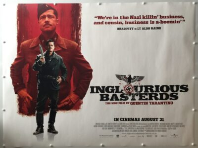 Inglourious Basterds Lt Aldo Raine Advance UK Quad