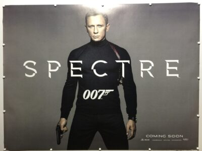 James Bond Spectre Teaser UK Quad Poster