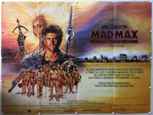 Mad Max Beyond Thunderdome UK Quad