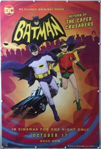 Batman Return of the Caped Crusaders 2016 UK One Sheet