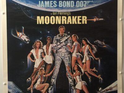 James Bond Moonraker Blasting Off This Summer Advance US One Sheet