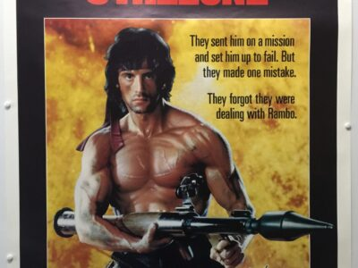 Rambo First Blood Part II Final US One Sheet