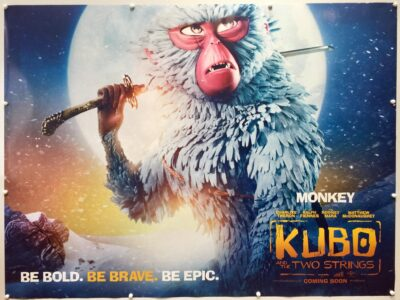 Kubo and the Two Strings Monkey Advance UK Quad