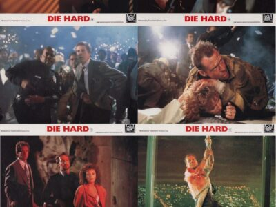 Die Hard Lobby Card