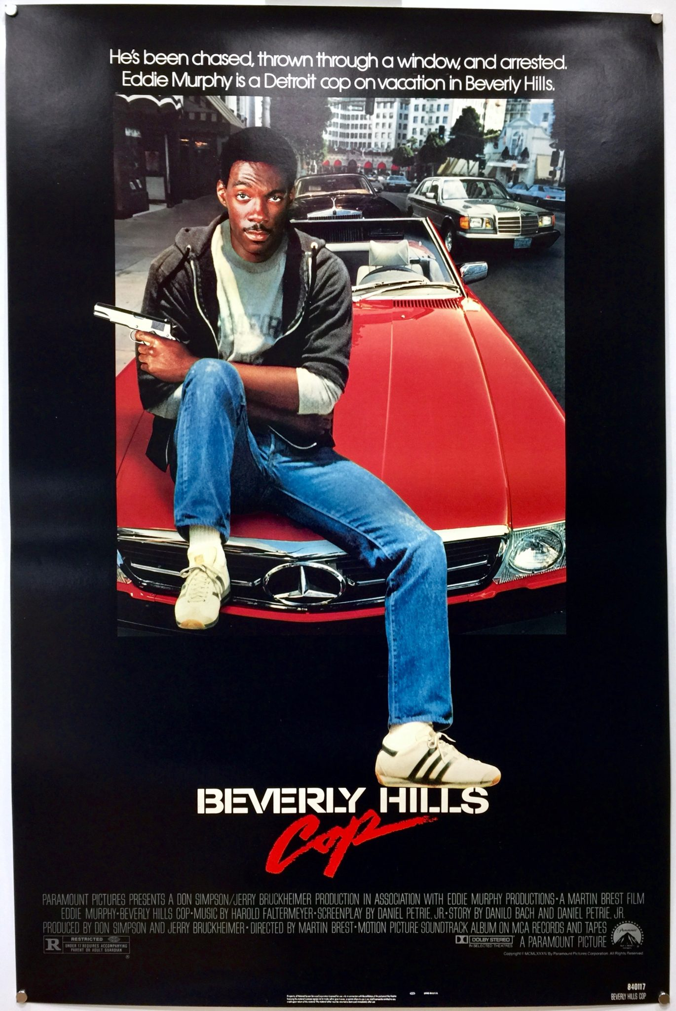 Beverly Hills Cop 1984 Us One Sheet 187 The Poster Collector