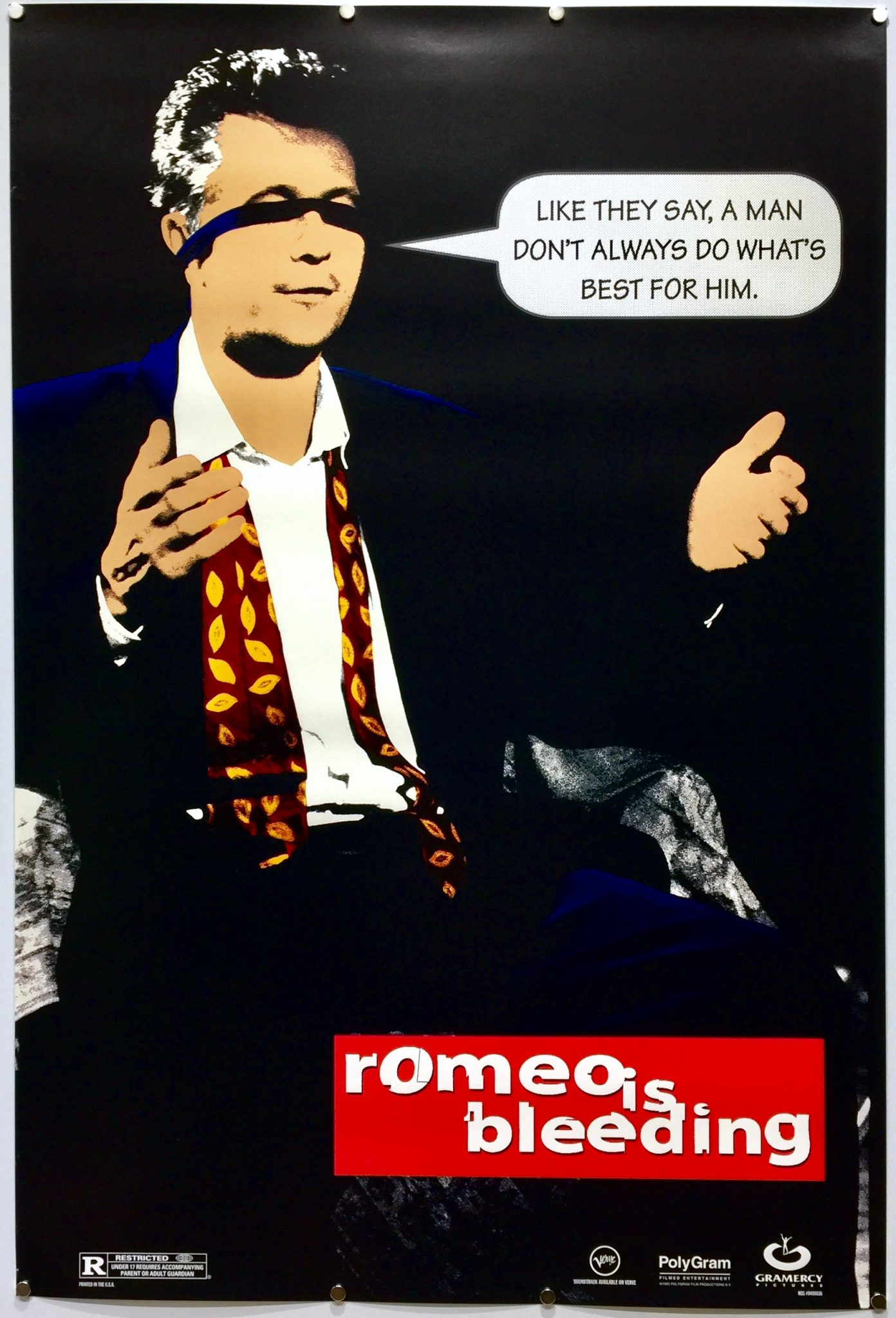 Romeo is Bleeding | 1993 | Teaser | US One Sheet » The ...