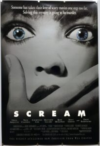 Scream US One Sheet