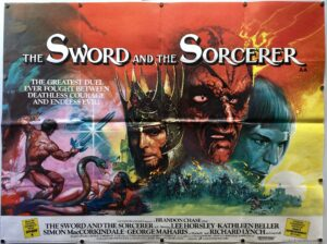 The Sword and the Sorcerer UK Quad