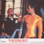 The Running Man UK Lobby Card