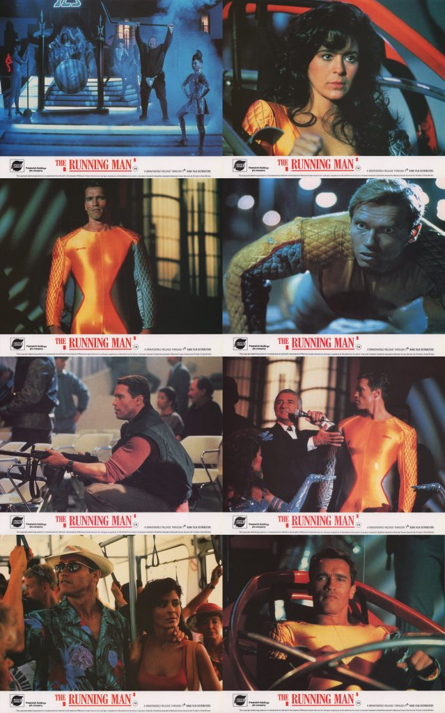 The Running Man 1987 Poster | www.imgkid.com - The Image ...