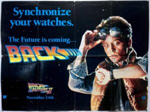 Back to the Future Part II Watches Advance UK Quad