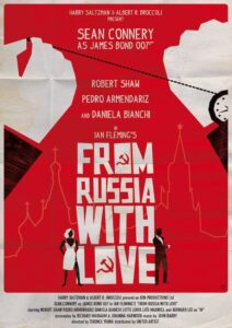 From Russia With Love Alain Bossuyt Print