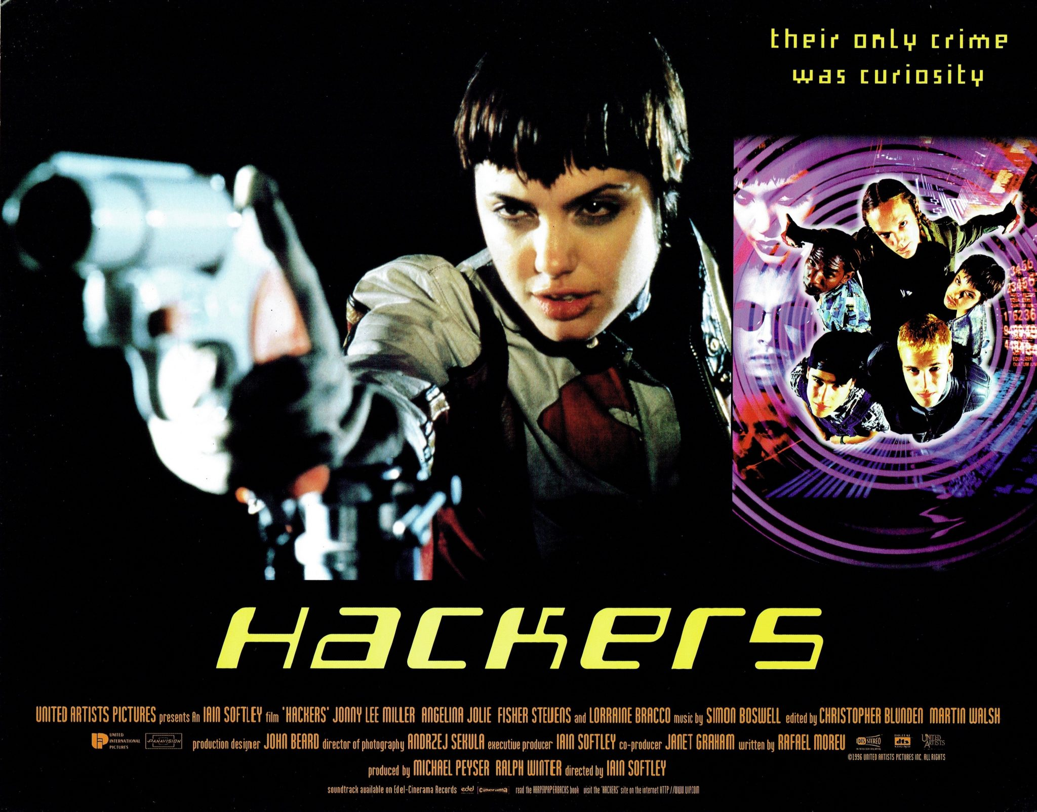 Hackers | 1993 | US Lobby Card » The Poster Collector