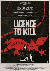 Licence To Kill Alain Bossuyt Print
