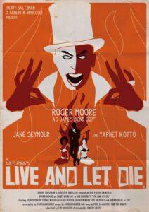 Live and Let Die Alain Bossuyt Print