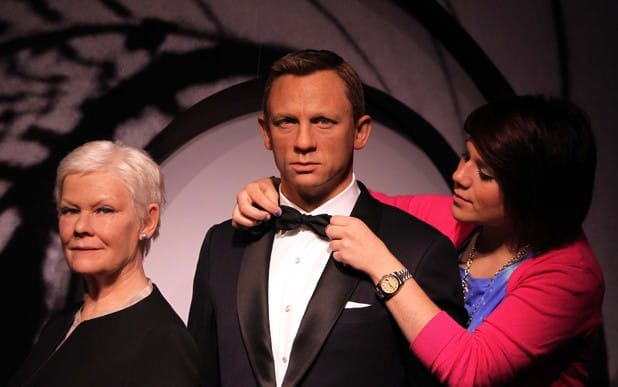 For Your Eyes Only: The Madame Tussauds James Bond Collection Artist Cleaning Waxworks