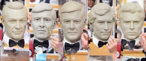 For Your Eyes Only: The Madame Tussauds James Bond Collection Five Bonds Together
