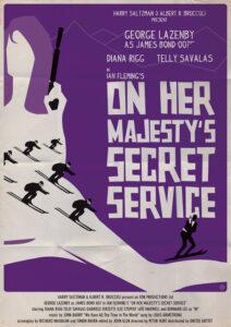 On Her Majesty's Secret Service Alain Bossuyt Print