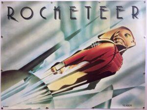 The Rocketeer Teaser UK Quad