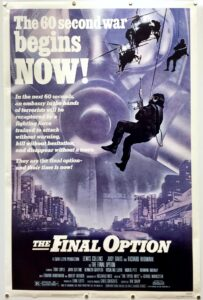 The Final Option Who Dares Wins US One Sheet Poster