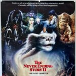 The NeverEnding Story II The Next Chapter International Black Style US One Sheet