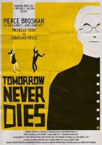 Tomorrow Never Dies Alain Bossuyt Print