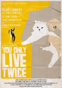 You Only Live Twice Alain Bossuyt Print