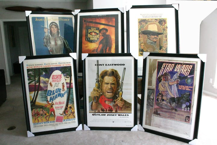 Framing Movie Posters 11