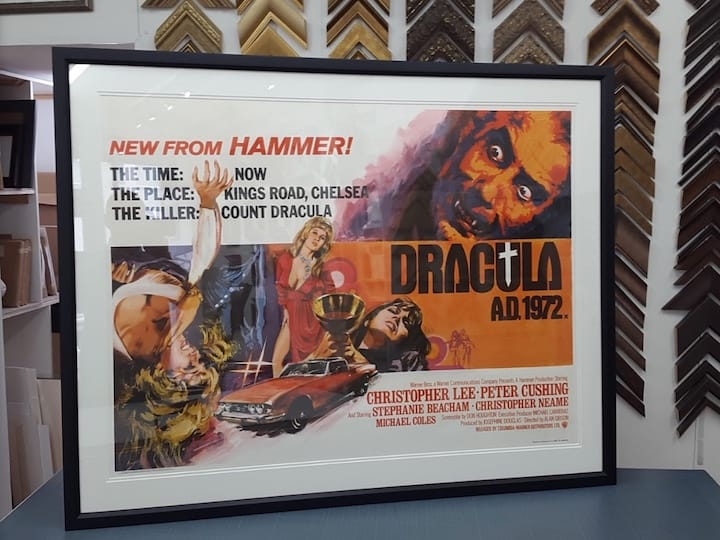 Framing Movie Posters 10