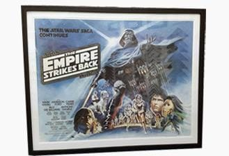 Framing Movie Posters 3