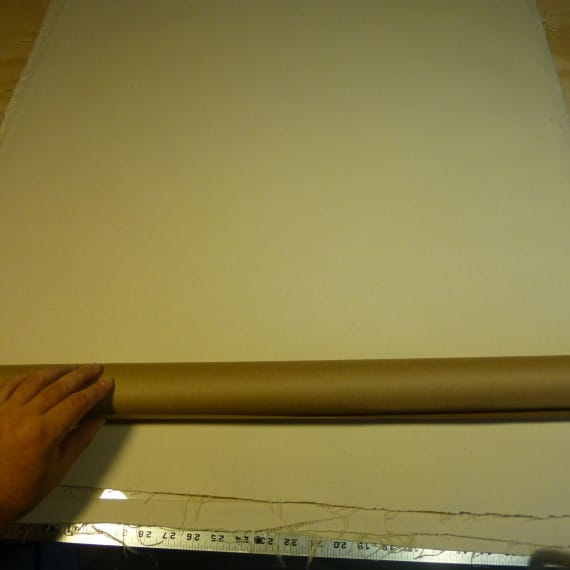 Ship Rolled and Folded Movie Posters Rolled Step 3a