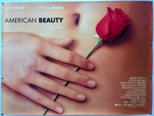 American Beauty 1999 UK Quad