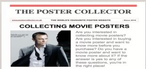 Collecting Movie Posters