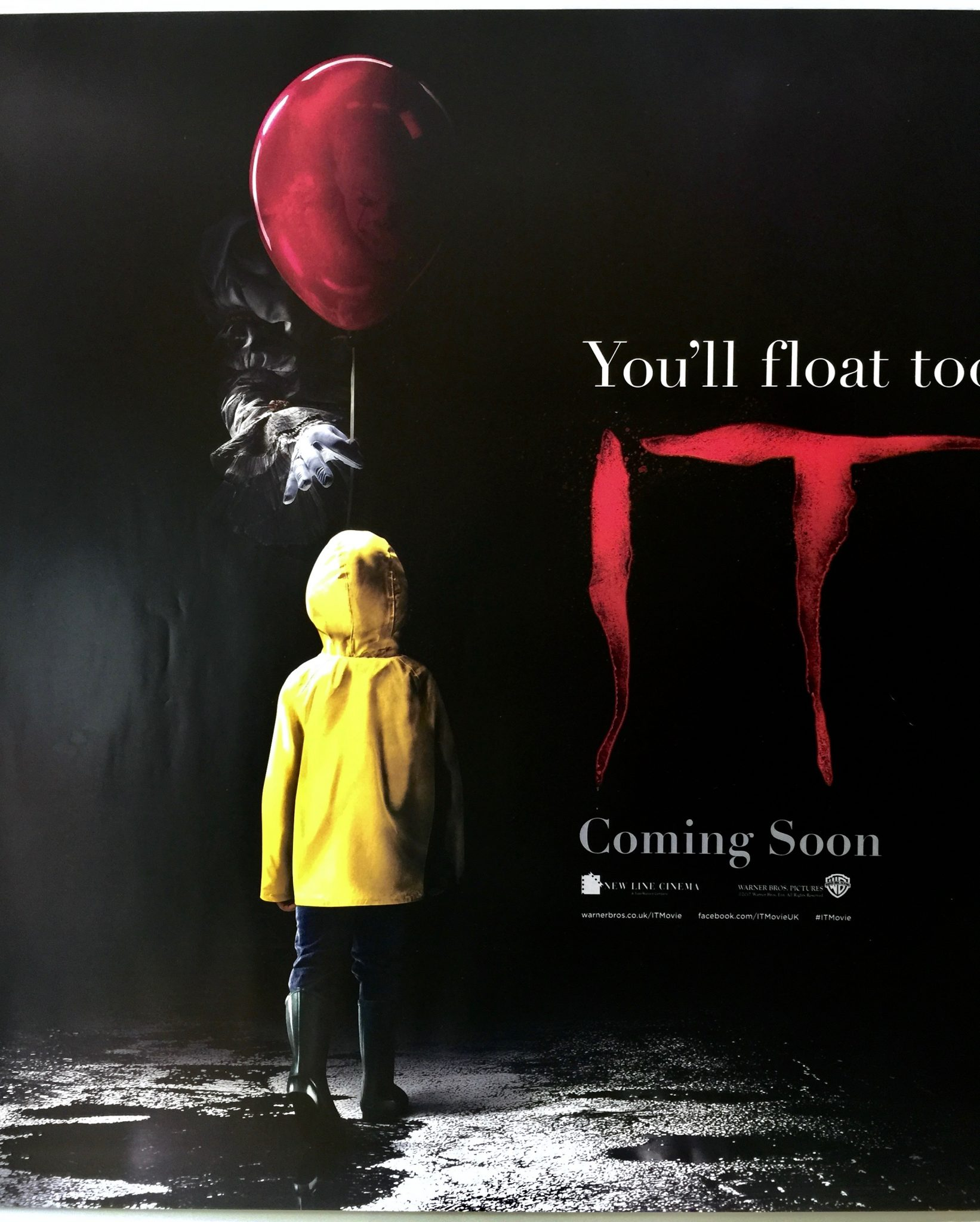 IT | 2017 | Teaser | UK Quad » The Poster Collector